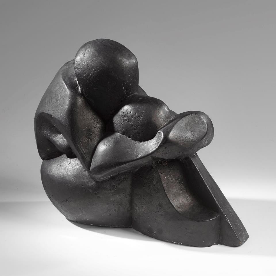 katarzyna-kobro-female-nude-e28094-sitting-akt-kobiecy-siedzc485ca-1925-27-cast-1994-graphitised-plaster